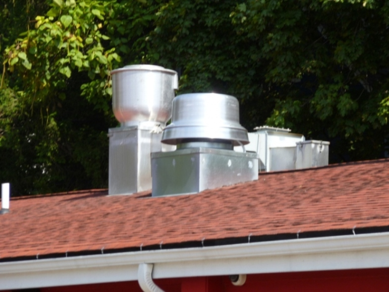 Exhaust Fans and Curbs